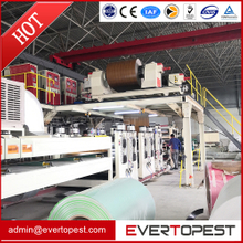 Aluminum plastic compounding panel making line